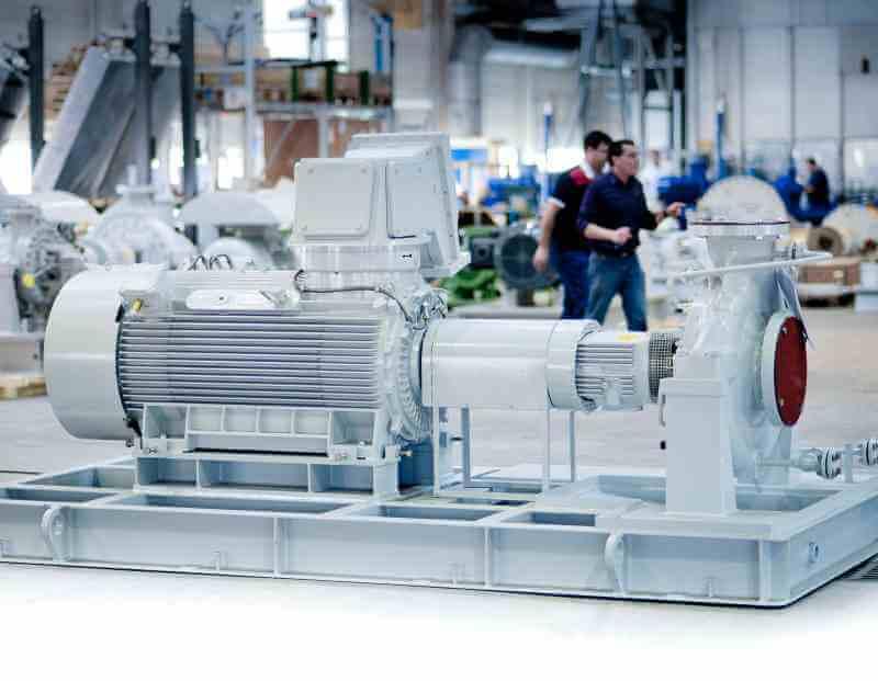 HV electric motor